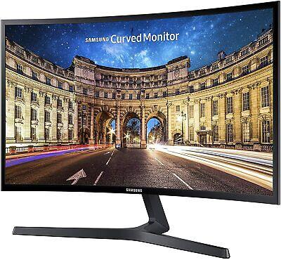 "2020 Samsung 23.5"" FHD Curved LED-Lit FreeSync Monitor (LC24F396FHNXZA)-NEW"