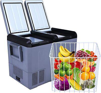 Luckyermore 55QT Portable Car Refrigerator Fridge Freezer Travel Cooler Truck