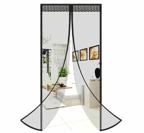 New Magic Net Mesh Screen Door with 26 Magnets Anti Mosquito Bug Curtain Building & Hardware