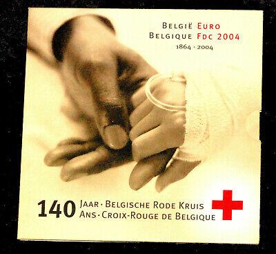 Belgium BU FDC 2004 140 ans Croix-Rouge de Belgique Rode Kruis