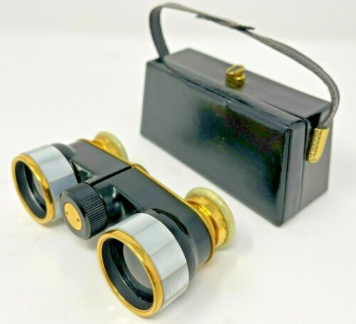 Vintage G. Rodenstock Aldon Opera Binoculars in Case Made in Germany
