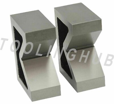 Cast Iron Vee Block Set Of 2 Pieces 4 X 1-12 X 3 V Block Without Clamp
