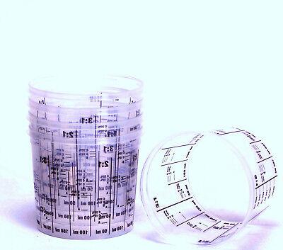 10 Lackmischbecher mit Skala Mischbecher 385ml Markenqualität PVC385 10 Skala
