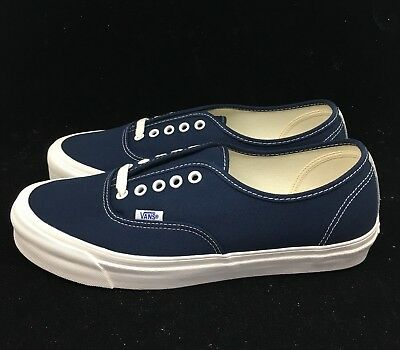 a0902ecdea VANS VAULT OG AUTHENTIC LX DRESS BLUE WHITE VN000UDDIAW