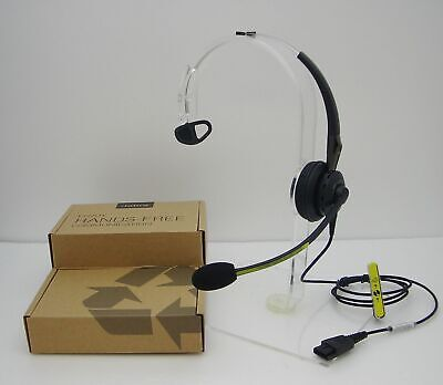 Used, Jabra BiZ 2400 Mono UNC Silver Black Over-The-Head Phone QD Headset 2403-700-105 for sale  Shipping to India