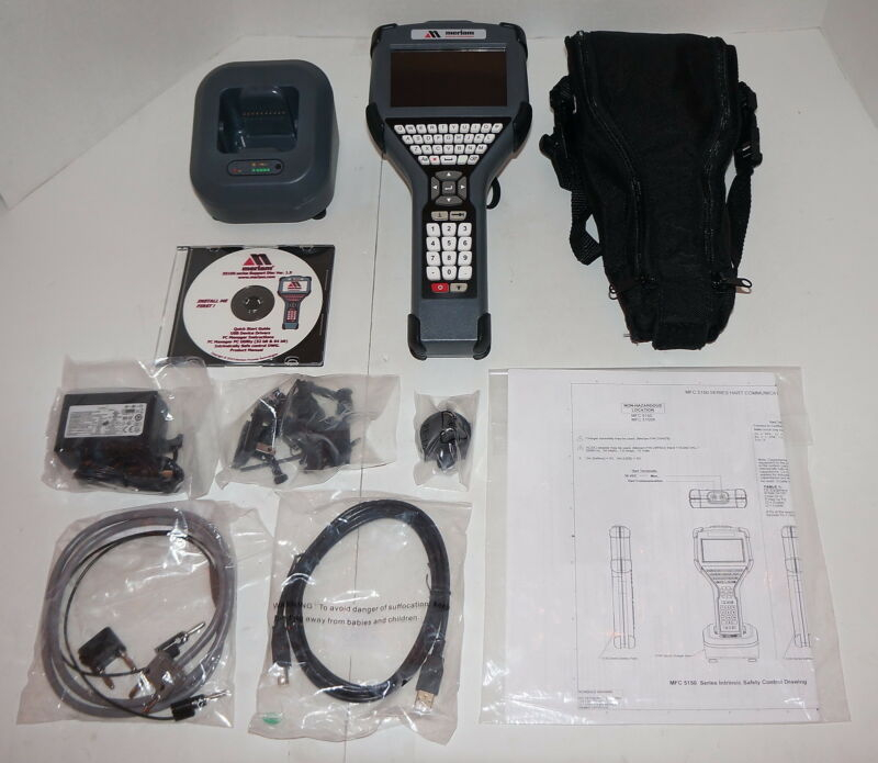 Meriam Mfc5150x Intrinsically Safe Handheld Hart Compliant Communicator  New