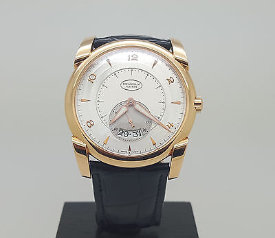 Mint Parmigiani Fleurier Kalpa Tonda 18K Rose gold White dial Men's watch 42MM