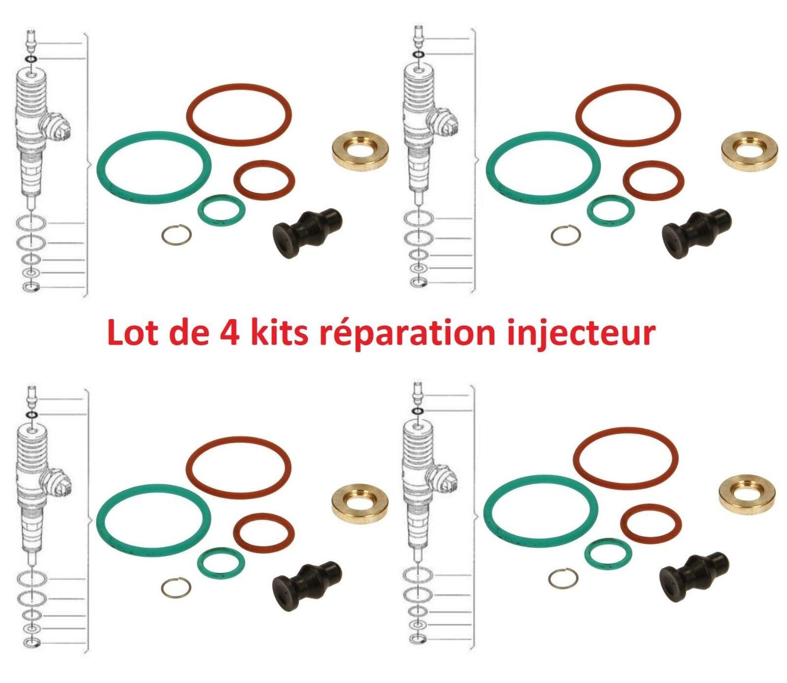 Kit réparation joint injecteur Audi A3 8L1 1.9 TDI 1896 ccm 130 PS 96 KW
