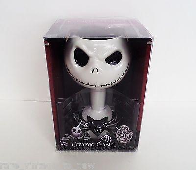 NEW Nightmare Before Christmas Jack Skellington Ceramic Goblet Mug B4 Cup Disney