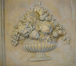 Fruit-Basket-Wall-plaque-backsplash-tile-home-decor