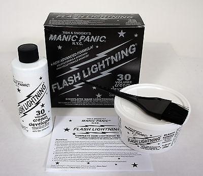 MANIC PANIC Flash Lightning Hair Bleach Kit 30 VOLUME Vol NEW
