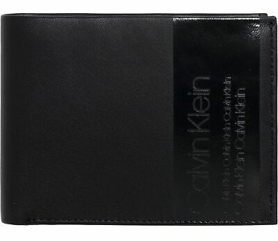 7e5b330967 Calvin Klein Elevated 10CC Coin Pass Geldbörse Navy Blau Neu