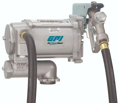 Gpi Fuel Transfer Pump 20gpm Heavy Duty 115v Ac Great Plains Industries Fr700v