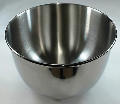 Small stainless steel bowl for Sunbeam Heritage mixers.