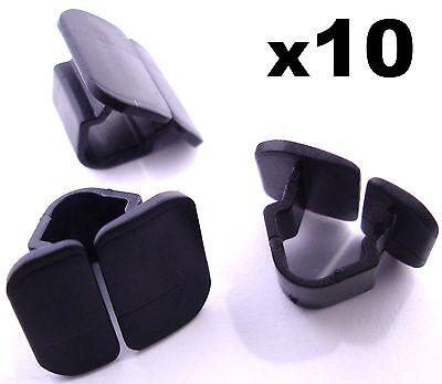 10x VW Bonnet Insulation Plastic Clips  Retainer Clips for Hood Sound Deadener
