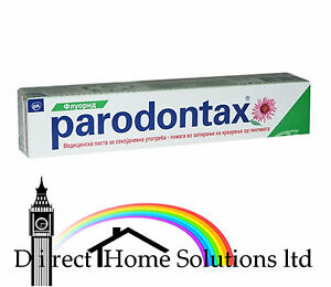 2 x Parodontax Fluoride Toothpaste 75 ml GREEN UK STOCK