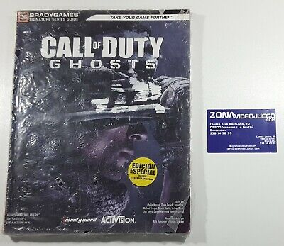 Guía Call of Duty Ghosts, Ps4, Ps3, One, 360, Pc. Brady Games....