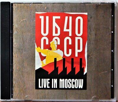 CD UB40 Live in Moscow Reggae Cherry Oh Baby Tell Like It Is Rat in Mi Kitchen comprar usado  Enviando para Brazil