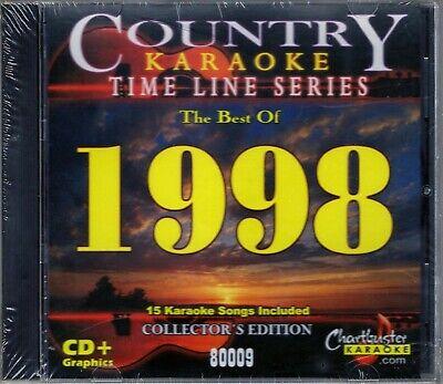 Karaoke CDGs, DVDs & Media - Chartbuster Karaoke Country