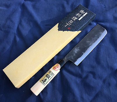 Japanese Super White Steel Double beveled Usuba(vegetable) Knife 165mm by Tomita
