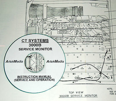 Wavetek Ct Systems 3000b Signal Generator Operating Service Manual