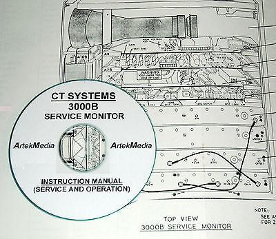 Wavetek Ct Systems 3000b Signal Generator Operating Service Manual