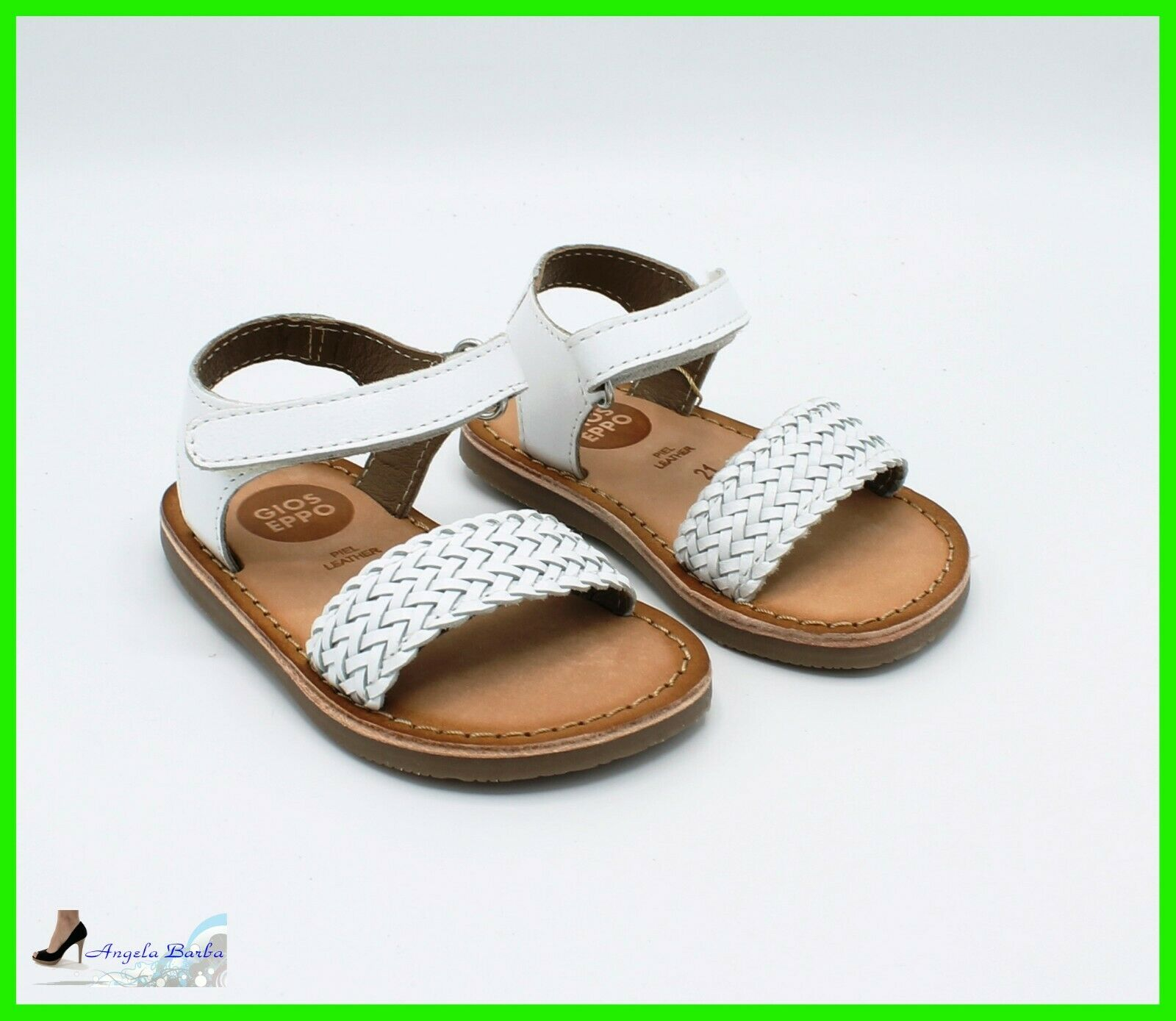 Gioseppo Sandals Baby Leather Leather Sandal Shoes for Baby Girl Summer 21 23