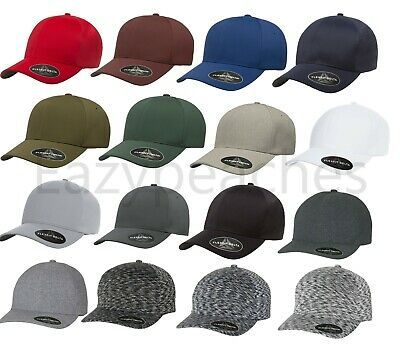 FLEXFIT DELTA TECH Hat, FITTED, Mens S/M, L/XL, Sports, Golf, Baseball Cap, 180