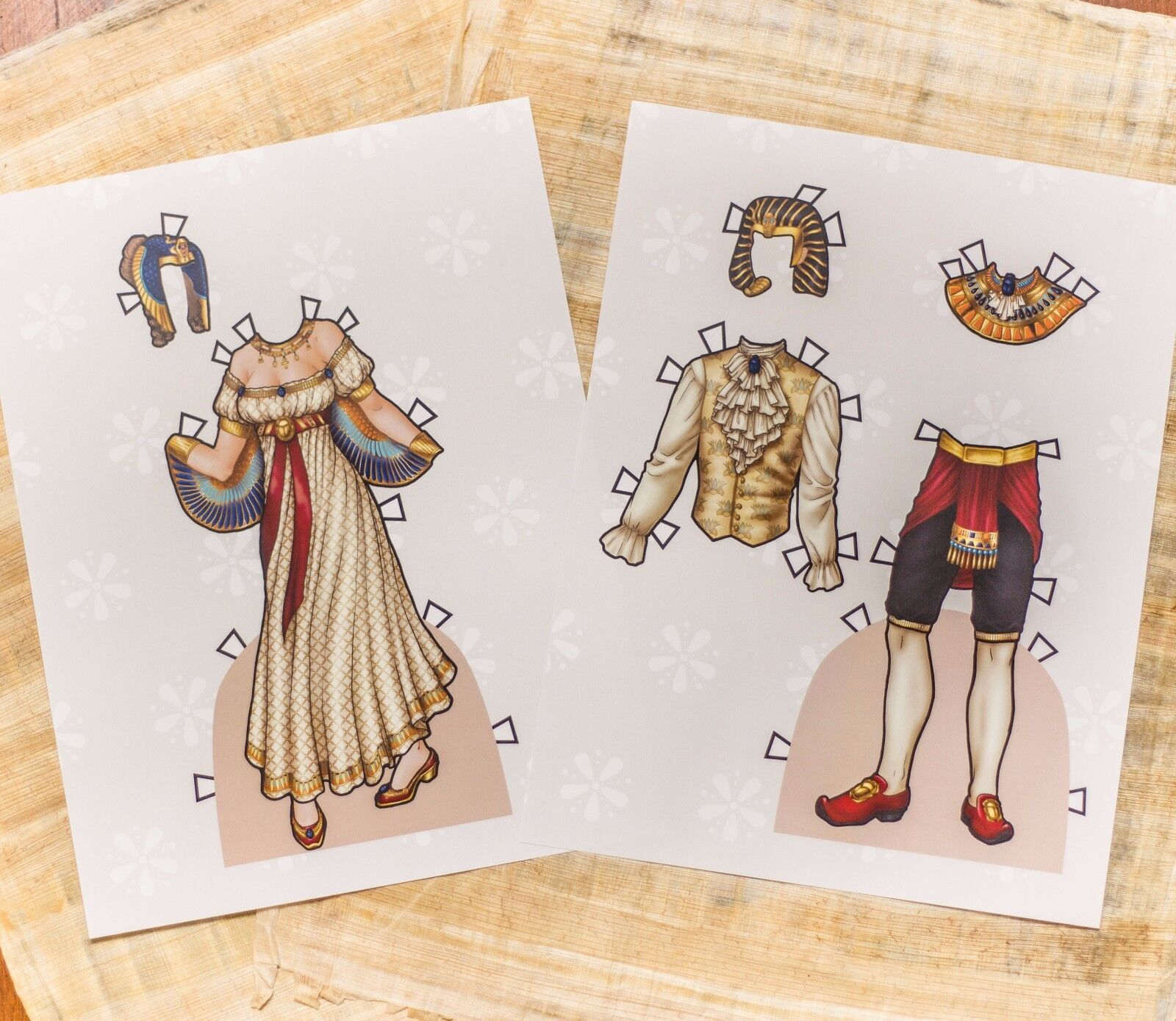 paper doll costume - HD 1600×1389