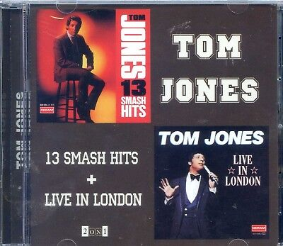 2 In 1  Tom Jones 13 Smash Hits   Live In London  At The Talk Of The To