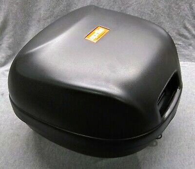 Aprilia Scarabeo 50 2T, 1993-2011, OEM NOS new concept top box, blk, AP8249932