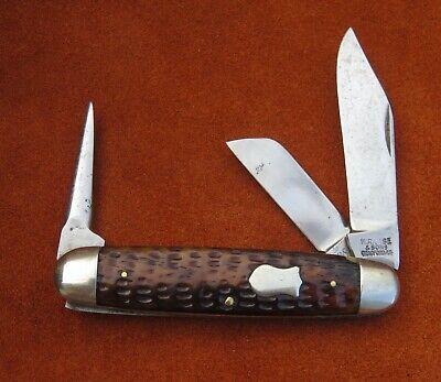 Vintage Antique Folding Pocket Knife WR Case & Son Bradford Tested XX 1905-1920