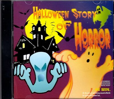 Spooky Halloween Stories Cd (HALLOWEEN STORY OF HORROR SCARY NARRATION & SPOOKY SOUND EFFECTS RARE VINTAGE)