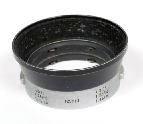 LEICA Lens Hood 12571J 1:2/50 1:2.8/50 1:3.5/50 1:2/35 1:2.8/35 1:3.5/35 IROOA