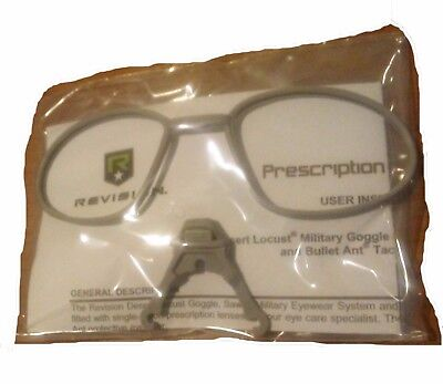 New Revision Prescription Rx Lens Carrier And Rx Desert Locust Sawfly Bullet