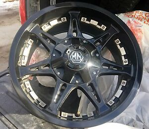 "20"" x 9"" Rims: Mayhem Missile"