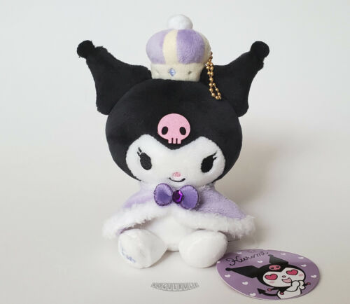 "🚦Hello Kitty KUROMI 15th Anniversary Plush - Royal Crown Sanrio 6"" - NEW MWMT"
