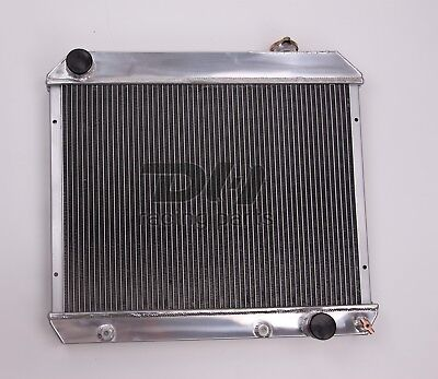 3 ROWS ALL ALUMINUM RADIATOR FIT 1963 1964 1965 1966 Chevy Truck C10 C20 C30