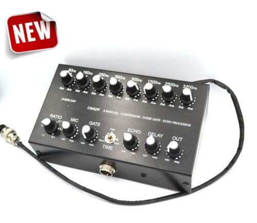 Cobra Galaxy Uniden Striker Magnum 8 Band Microphone Sound EQ Noise Gate 4pin