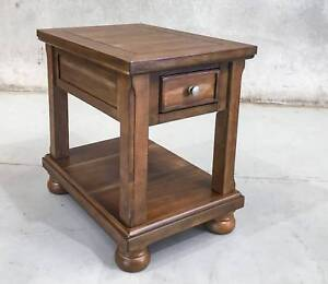 """""""FLYNNTER"""" - CHAIR SIDE END TABLE Epping Whittlesea Area Preview"""