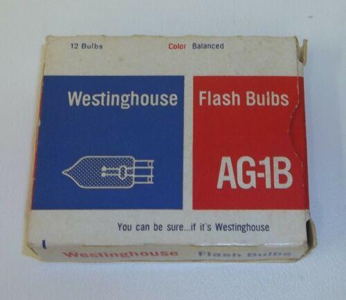NOS 12 Vintage Westinghouse Camera Flash Bulbs AG-1B