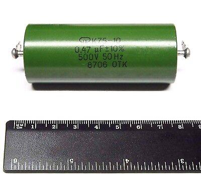 4x K75-10 0.47uf 500v 10 Hybrid Pio Capacitors Nos
