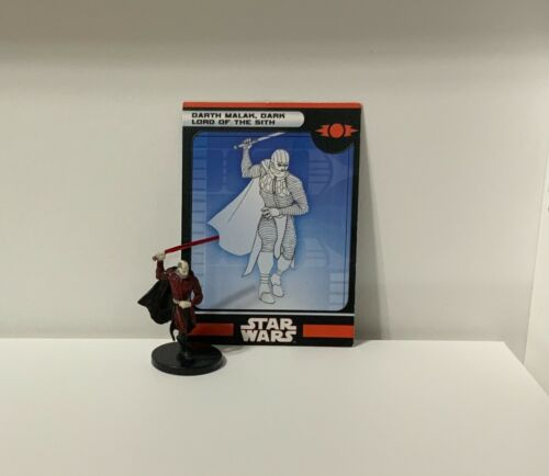 Star Wars Miniatures: Kghts Old Rep. Darth Malak, Dark Lord of the Sith #13