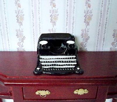 1:12 - Sehr schöne Miniatur - Schreibmaschiene Puppenhaus