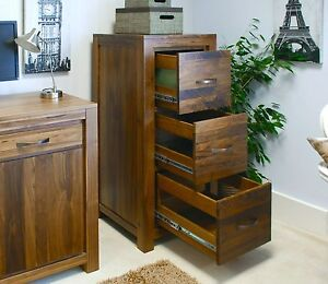 Mayan-solid-walnut-home-furniture-three-drawer-office-computer-filing-cabinet