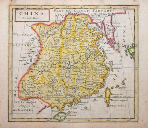CHINA BY H.MOLL 1723
