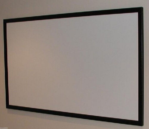"""130"""" Pro Cinema Grade Projector Projection Screen BARE Material US Made and Sold"""