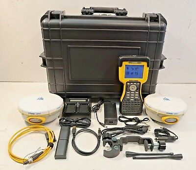 Pair Trimble 5800 430-450mhz Tsc2 Wsurvey Controller. Complete Rtk Package