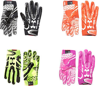 Under Armour Mens F5 Football Gloves  4 Colors