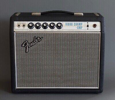 Fender Vibro Champ Amplifier 1968 Drip Edge Vintage Guitar Amp  segunda mano  Embacar hacia Mexico